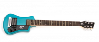 Shorty Electric Guitar Blue HCT-SH-EBL-0