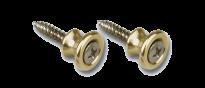 Strap Buttons Brass