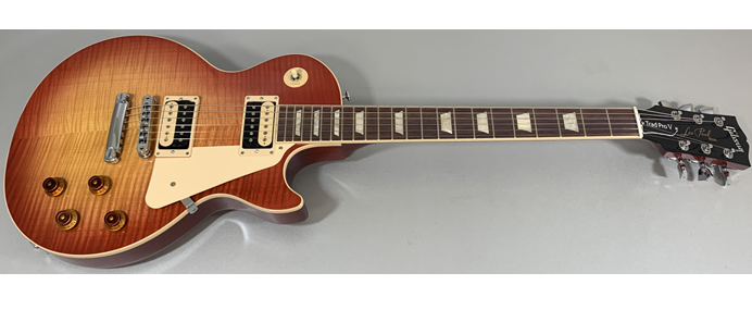 Les Paul Traditional Pro V AAA Flame Washed Cherry Burst 127990039