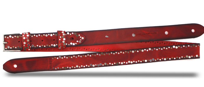 Rich Red Burst 1349 Strap
