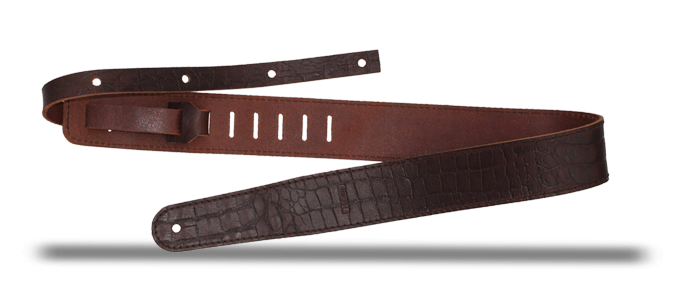 Raw II Contour Croc Brown 1487 Strap