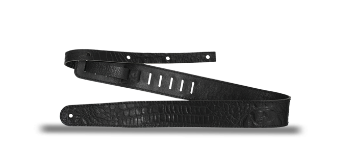 Raw II Contour Croc Black 1488 Strap