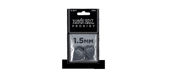 Plektren Prodigy Standard 1,50mm schwarz 6er Pack PO9199