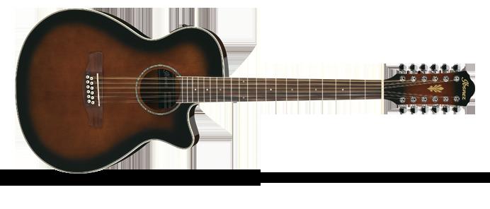 AEG1812II DVS Dark Violin Sunburst  Elektro Akustikgitarre