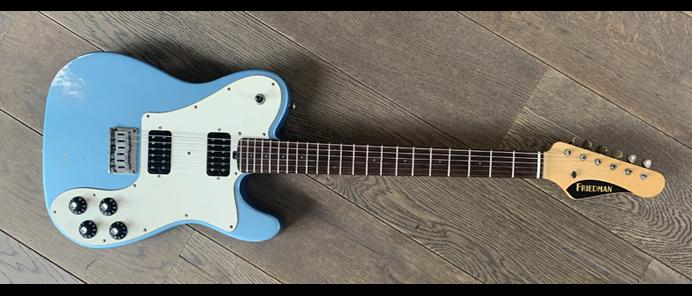 Vintage T ARMPH Metallic Blue