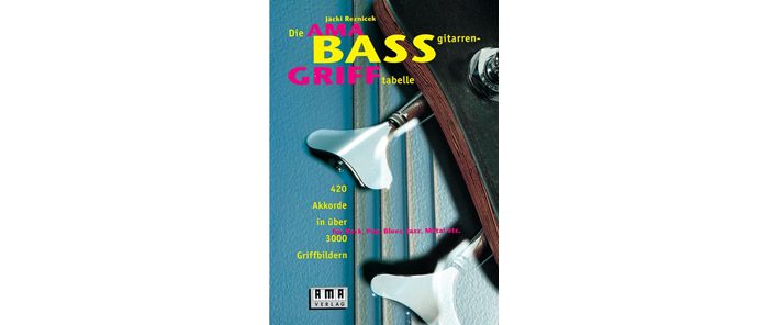 Bassgitarren Grifftabelle