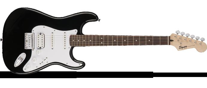 Bullet Stratocaster Hard Tail HSS Black