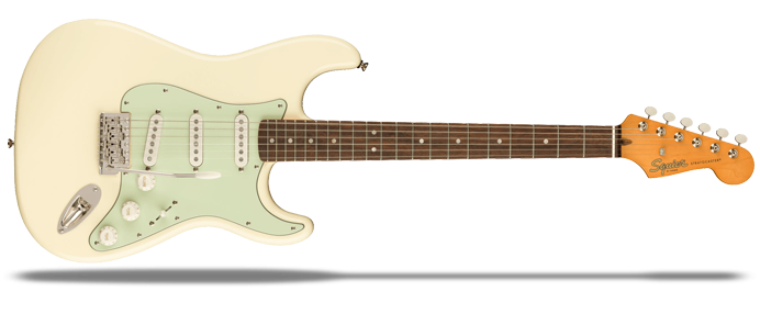 Classic Vibe 60s Stratocaster Mint Pickguard Olympic White