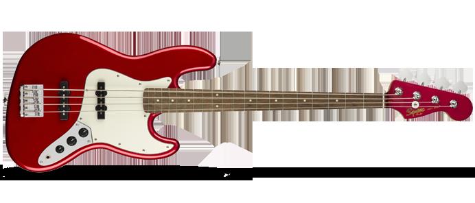 Contemporary Jazz Bass Dark Red Metallic
