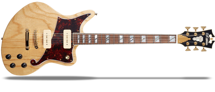 Deluxe Bedford Natural Swamp Ash P90s