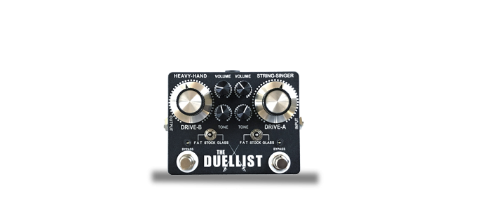 The Duellist Dual Overdrive /Boost /Distortion