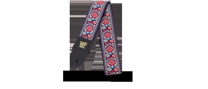 EB4091  Royal Bloom Jacquard Gitarrengurt