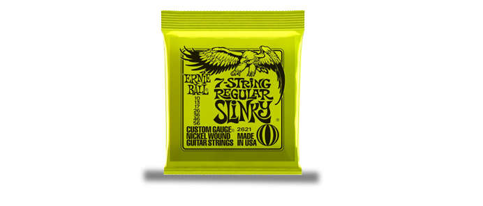 7-String Regular Slinky 2621
