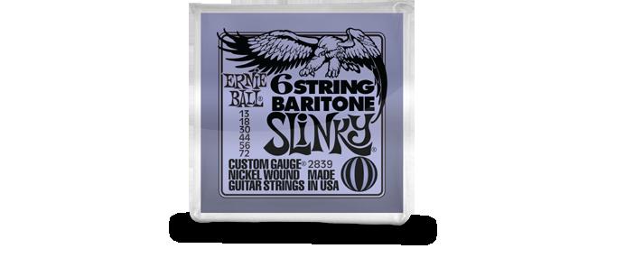 6-String Baritone Slinky 2839
