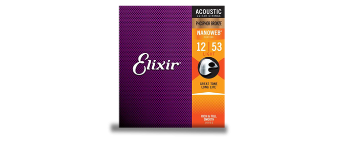 16052 Light Phosphor Bronze Nanoweb 12-53 Akustik Gitarrensaiten