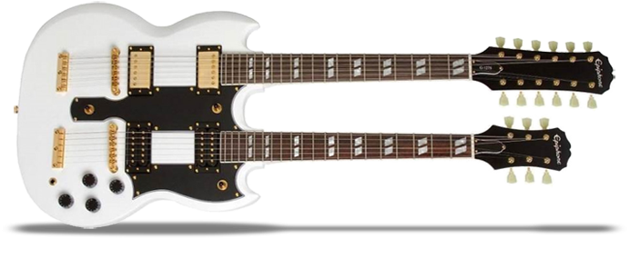 G-1275 Double Neck Alpine White Limited Edition