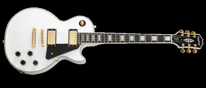 Les Paul Custom Alpine White