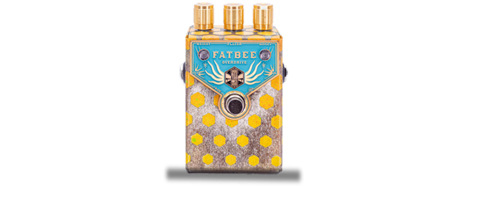 Fatbee Blue Gold Analog Overdrive