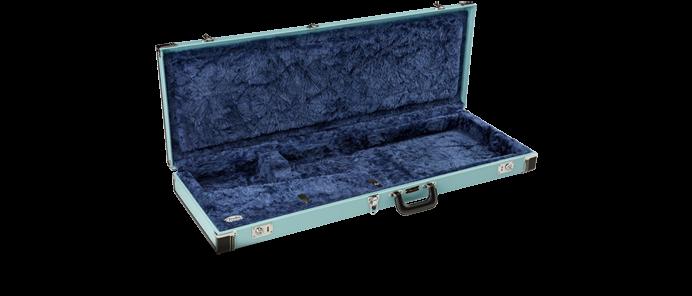 Classic Series Wood Case Strat/Tele Sonic Blue Koffer
