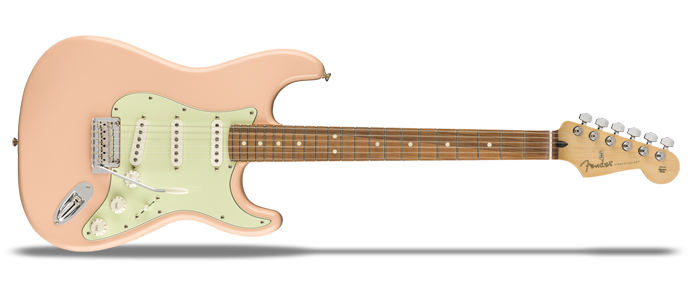 Limited Edition Player Stratocaster PF Shell Pink