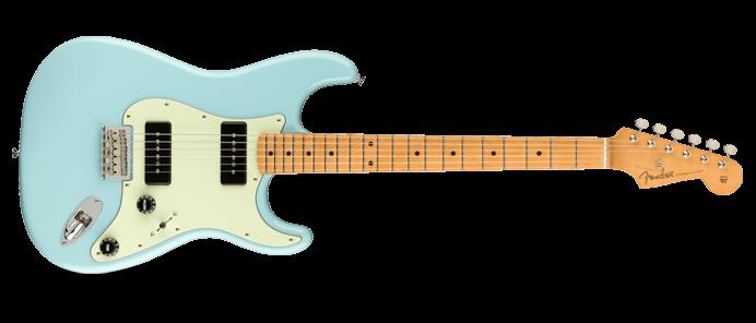 Noventa Stratocaster MN DPB Daphne Blue
