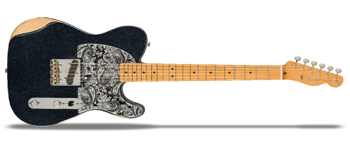 Brad Paisley Esquire Signature Black Sparkle