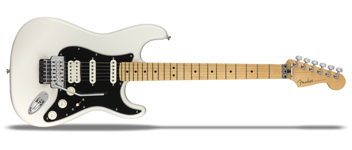 Player Stratocaster Floyd Rose HSS Polar White