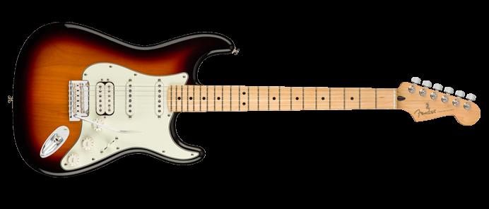 Player Stratocaster HSS 3-Color Sunburst