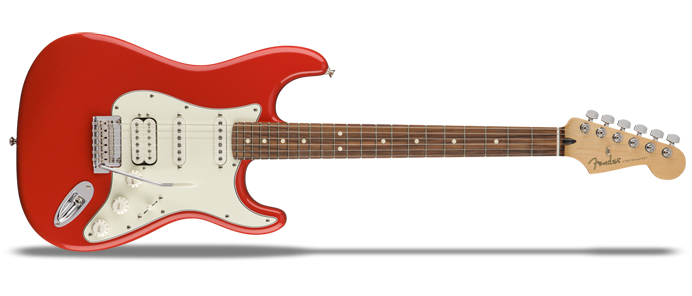 Player Stratocaster HSS PF Sonic Red