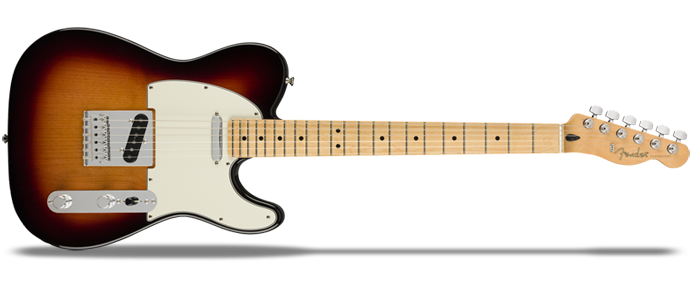 Player Telecaster MN 3-Color Sunburst