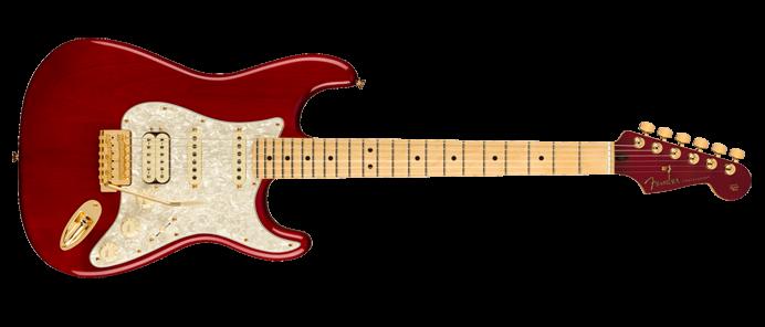Tash Sultana Stratocaster Transparent Cherry Signature