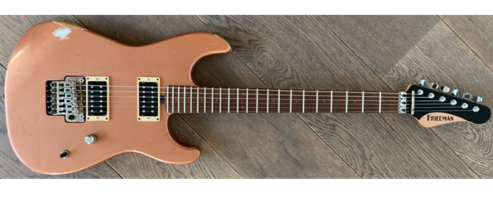 Cali ARCPHH+ Copper Finish Medium Aged