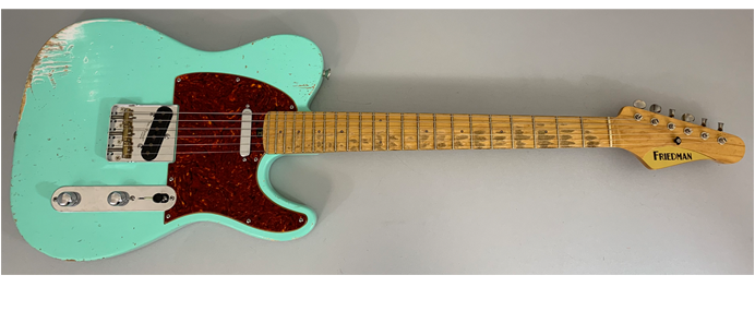 Vintage T AGE-T-CLSC-PMSGTST-H Surf Green Finish