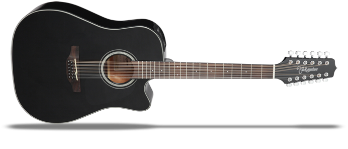 GD30CE12N-2 Black Gloss G-Series 30 12 Saiter Akustikgitarre