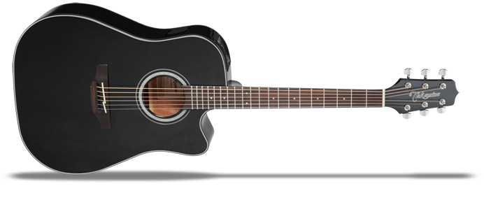 GD30CEB-2 Black Gloss G-Series 30 Dreadnought Akustikgitarre