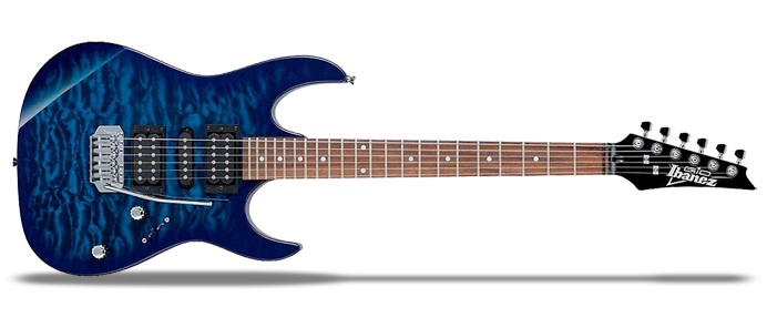 RG Gio GRX70QA TBB Transparent Blue Burst