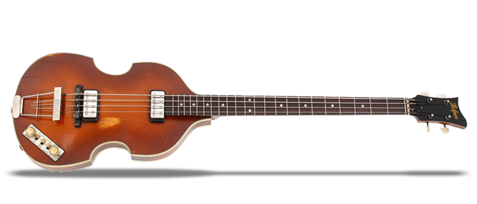 Violin Bass Vintage Finish 63