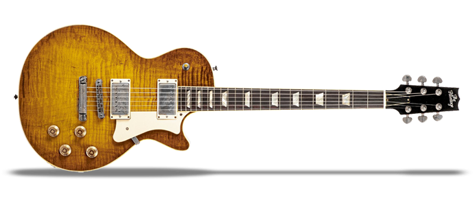 Standard H150 Dirty Lemon Burst Artisan Aged
