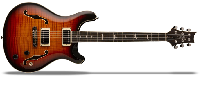 Hollowbody II Tri Color Sunburst