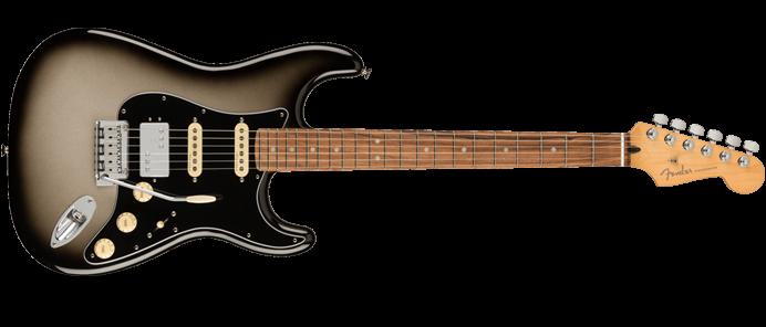 Player Plus Stratocaster HSS PF Silverburst