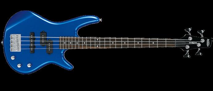 GSRM20-SLB Gio miKro Short-Scale Bass Starlight Blue