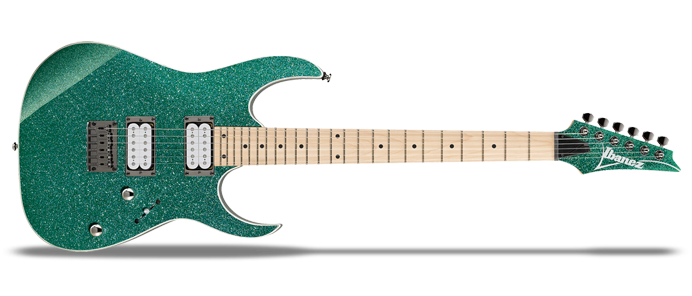 RG Standard RG421MSP Turquoise Sparkle