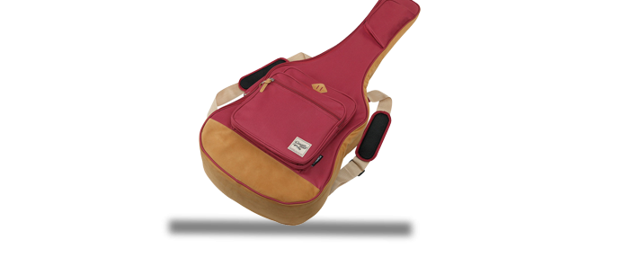 IAB541 WR Gigbag Wine Red Acoustic Gitarre