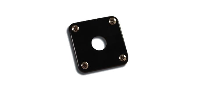 Jack Plate Black Plastic PRJP-010