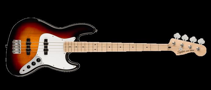 Affinity Jazz Bass 3-Color-Sunburst MN WPG 3TS