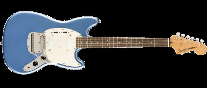 Classic Vibe 60's Mustang LRL Lake Placid Blue
