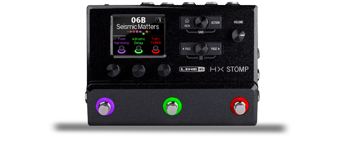 HX Stomp Guitar Processor