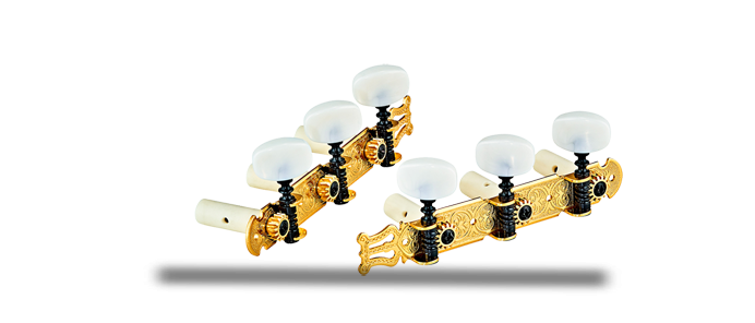 OTMSTD-GOWH Classic Tuning Machines Gold