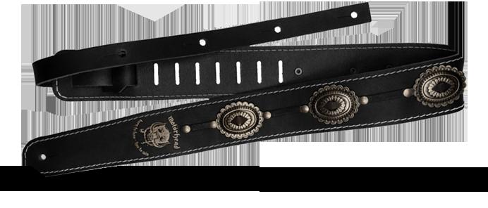 Motörhead Black / Old Silver  1565 Strap