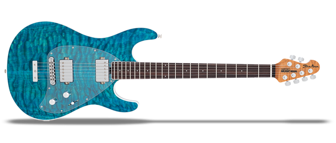 Steve Morse BFR Tahitian Blue Quilt Limited Edition
